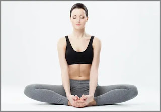 Easy and Effective Yoga Poses to Sleep Fast - Butterfly Pose