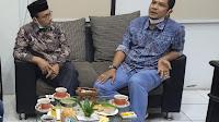 Kunjungi DPRK Bireuen, Senator DPD RI Sudirman Disambut T M Mubaraq