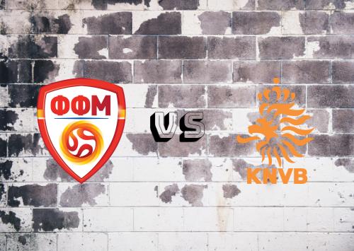 ARY de Macedonia vs Países Bajos  Resumen y Partido Completo