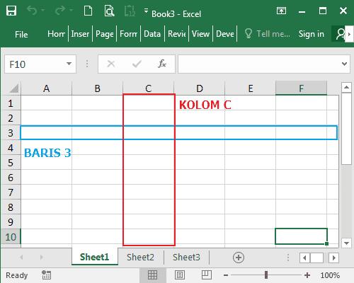 Memahami Pengertian dan Penjelasan Workbook dan Worksheet Pada Excel