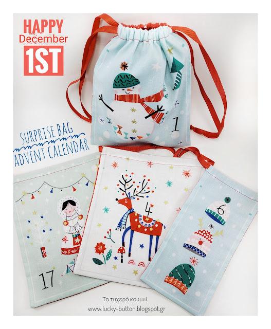 """""""Christmas Bag Advent Calendar"""""""