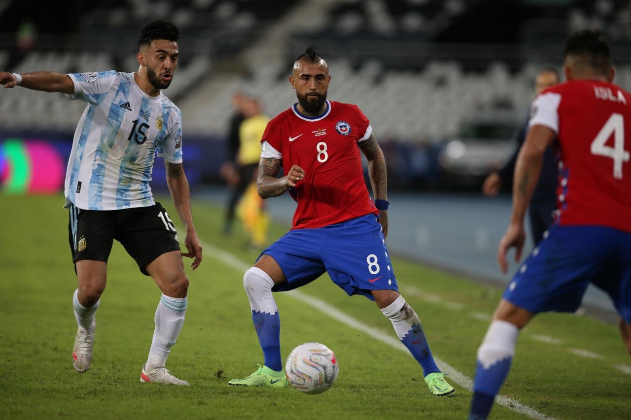 Argentina y Chile en Copa América 2021, 14 de junio