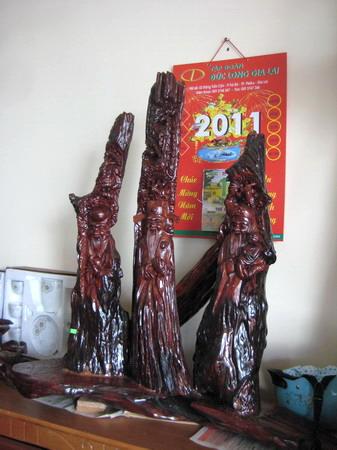 Tượng các loại- Đồ gỗ Đức Tân GiaLai