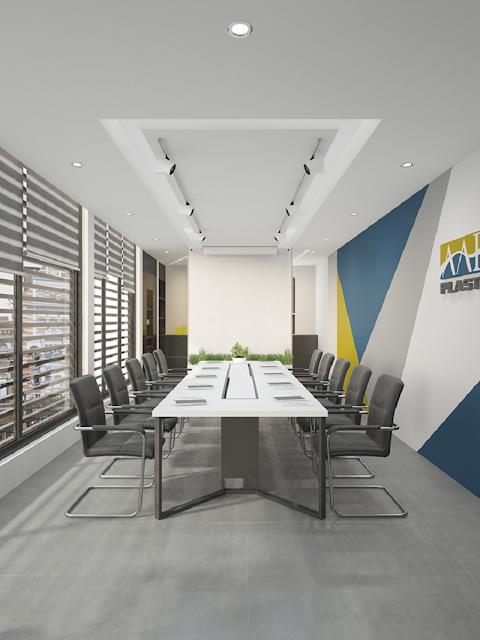 Thiết kế phòng họp nhận diện thương hiệu