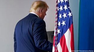 دونالد ترامب ، الانتخابات الأمريكية ، رفض نتائج الانتخابات،  رفض الخروج من البيت الأبيض،  الحرس الخاص، حربوشة نيوز