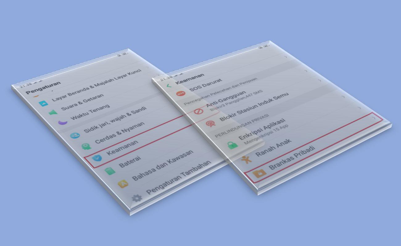 Cara Mudah Membuat Brangkas Pribadi HP Oppo