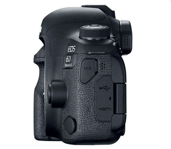Canon EOS 6D Mark II, вид сбоку