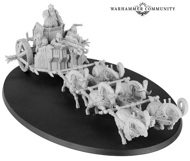 Forge World: Massive The Hobbit - Iron Hills Dwarf Chariot