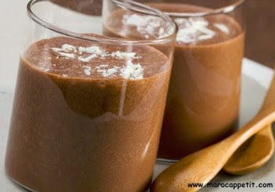 Recette de Milkshake au chocolat et à la vanille | Chocolate and vanilla milkshake recipe