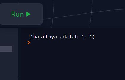 Merubah Bilangan Negatif Ke Positif Python