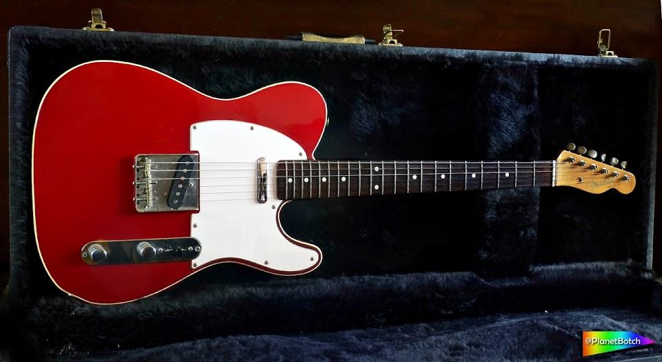 1987 Fender '62 Custom Telecaster Candy Apple Red
