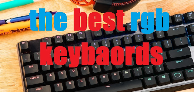 the new RGB keyboards 2019