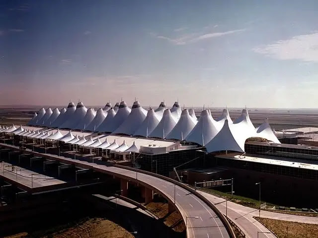 Denver International Airport, Colorado, USA