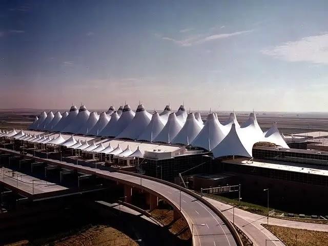 Denver International Airport, Colorado, USA