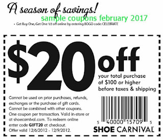 Shoe Carnival coupons february