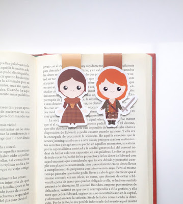 Outlander Magnetic Bookmark on Etsy