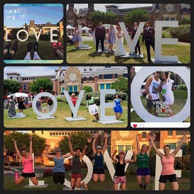 Virginia is for lovers in Brambleton, #LOVEVA