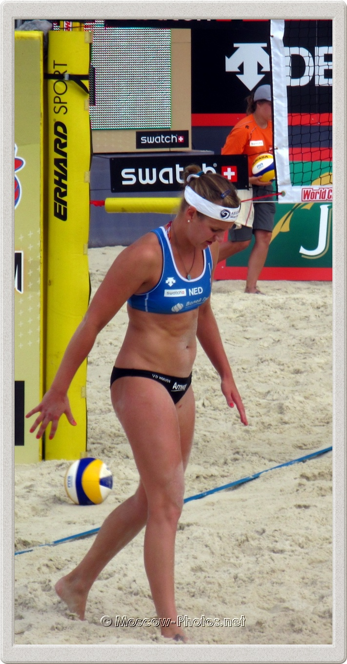 Beach Volleyball Player Roos Van der Hoeven