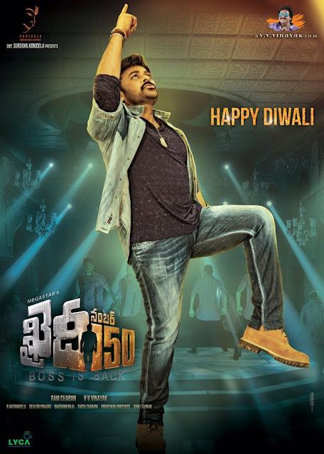 Khaidi No 150 Movie Latest HD Posters