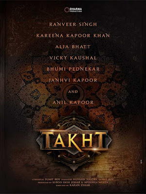 Takht Movie Release Date,Takht Movie Star Cast