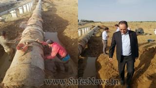 الشباب المعتصمون في سبيطلة يهددون بغلق خزان الماء الذي يزود مدينة صفاقس