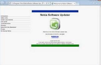 Nokia Software Updater Latest Version V4.3.2 Installer