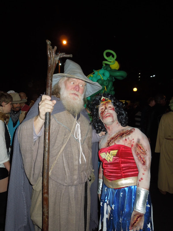 Gandalf costume West Hollywood Halloween