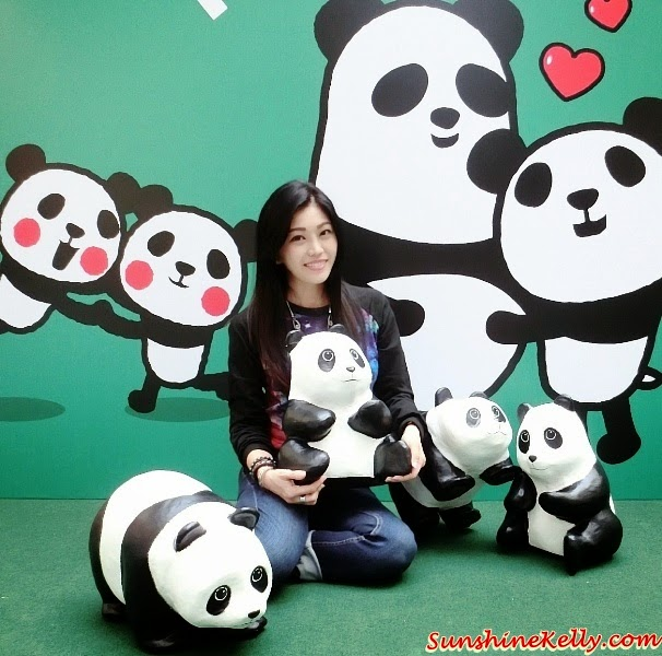 1600 Pandas World Tour in Malaysia, 1600 Pandas My, 1600 Pandas, 1600 Pandas Publika, Panda Exhibition, Pandamonium, Environmental Conservation, hug panda