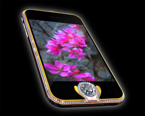 Apple iPhone 3G Kings Button iPhone termahal di dunia