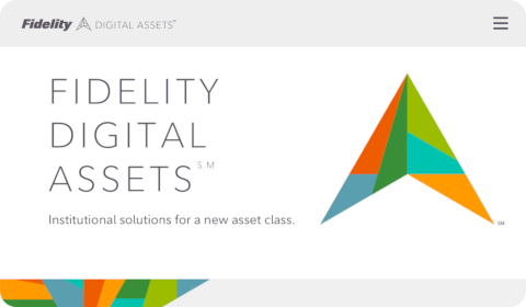 Accueil Fidelity Digital Assets