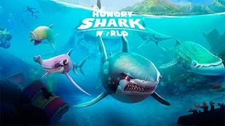 Hungry Shark World Apk Mod Dinheiro Infinito