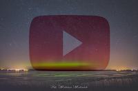 Time-lapse z wystąpienia zorzy polarnej 18 marca nad Buniewicami (zachodniopomorskie). Autor: Mateusz Matusiak - kliknięcie otwiera wideo w nowej karcie