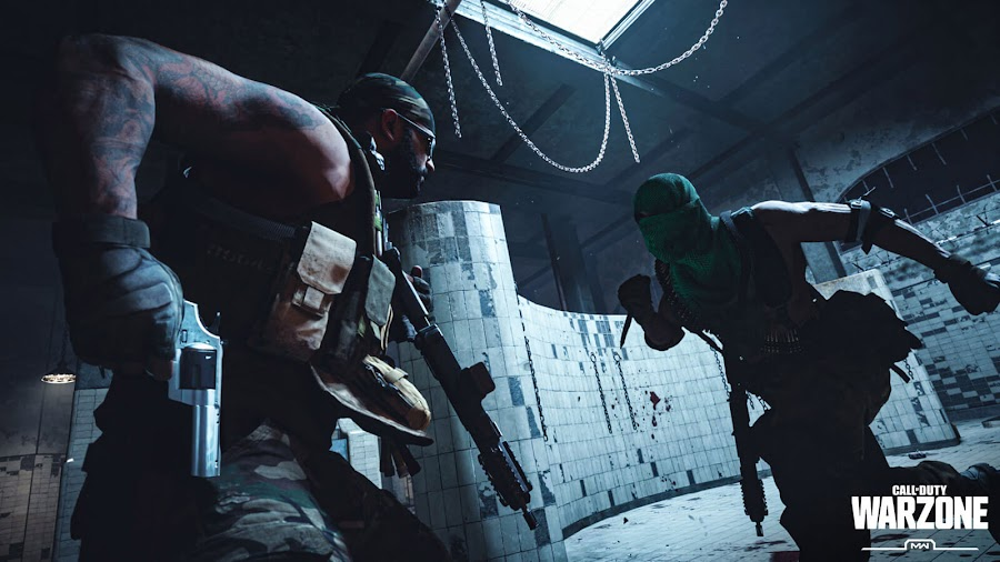 call of duty warzone battle royale mode gulag multiplayer map prisoner 1v1 modern warfare pc ps4 xb1 infinity ward activision
