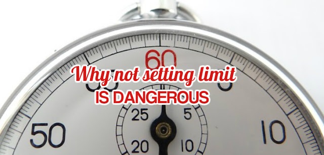 Not setting limit will make you lose big.