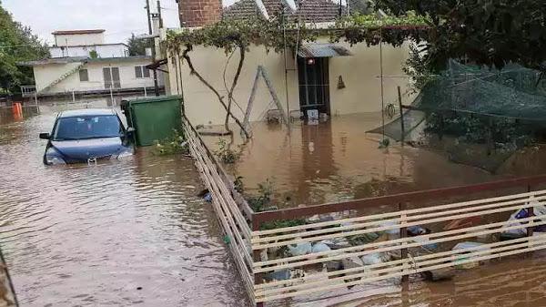 Τρεις οι νεκροί από την κακοκαιρία – Σε Θεσσαλία και Κεφαλονιά οι μεγαλύτερες καταστροφές