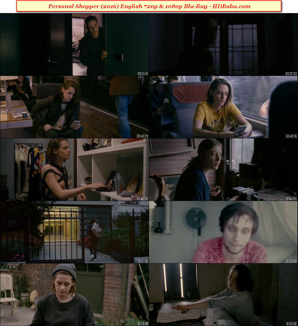Personal Shopper Full Movie Download