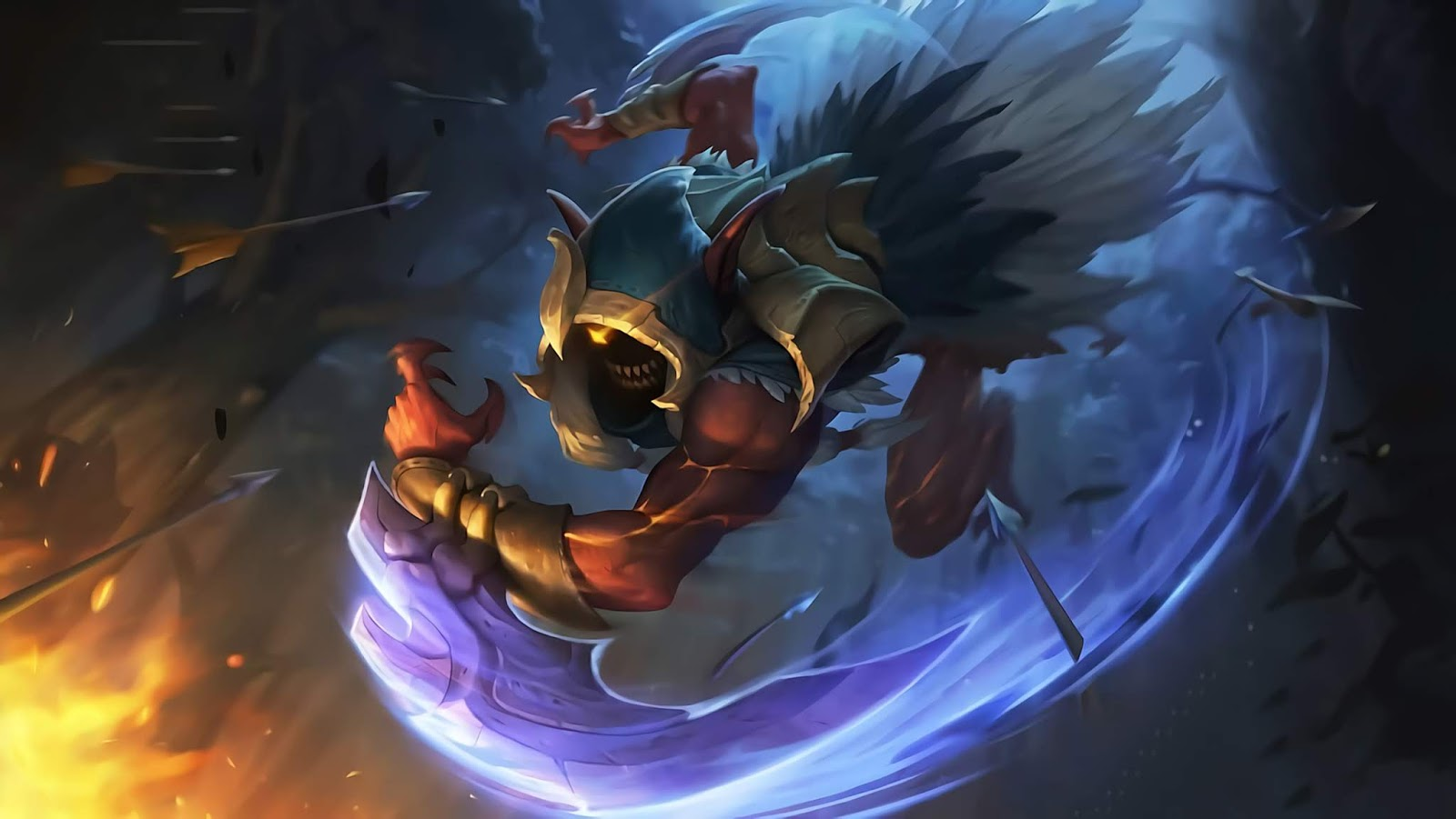 Wallpaper Helcurt Exoracial Executer Skin Mobile Legends HD for PC