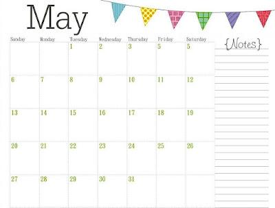 template calendar yang bisa dibuat dari Microsoft Office