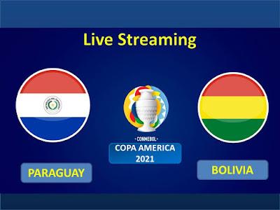 Link Live Streaming Copa America 2021 Paraguay Vs Bolivia
