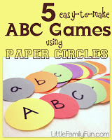 http://www.littlefamilyfun.com/2012/05/5-abc-games-using-paper-circles.html