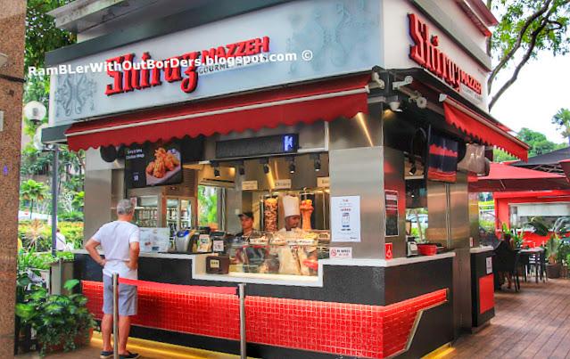Shiraz Mazzeh, Scotts Road, Singapore