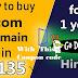 Godaddy से सिर्फ में Rs99 DOMAIN कैसे खरिदे ?- How to Buy Godaddy domain In 99Rs Only In Hindi?