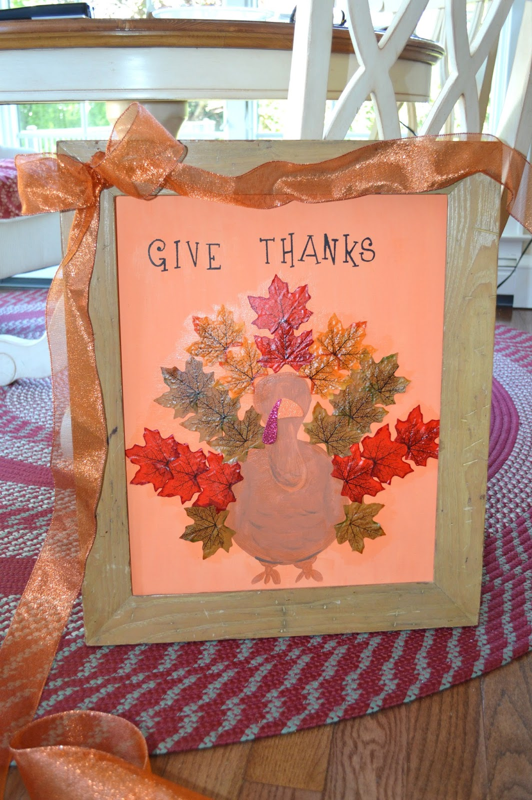 Thanksgiving turkey sign