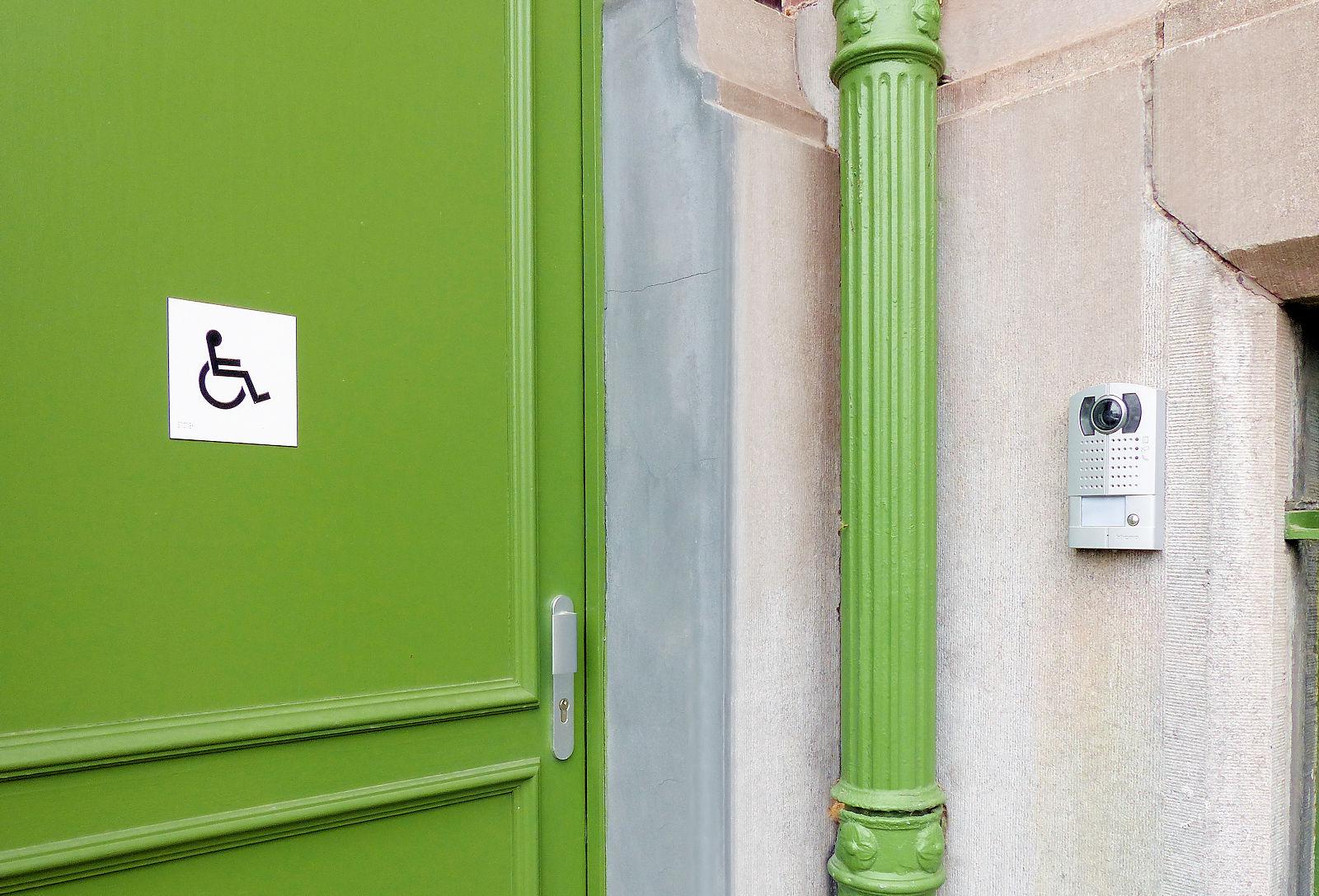 Institut du Monde Arabe, Tourcoing - Entrée fauteuils roulants.