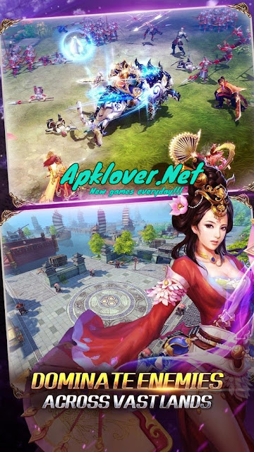 Kingdom Warriors MOD APK high damage