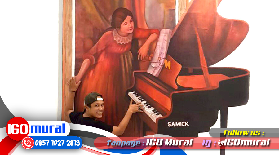 3d Painting On Wall Jakarta