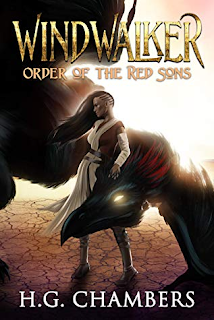 Front cover of Windwalker: Order of the Red Sons by H.G. Chambers