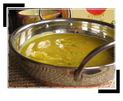 Tok er dal, Bengali Mango Dal, aaam dal