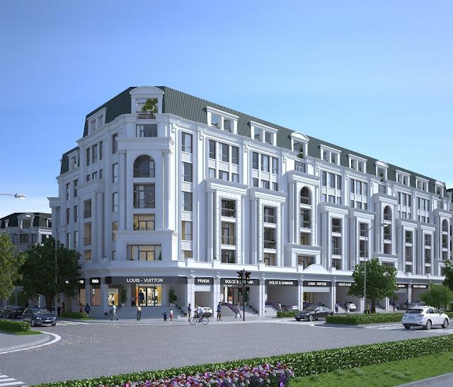 Liền kề Văn Phú thiên đường nhà ở chung cư cao cấp