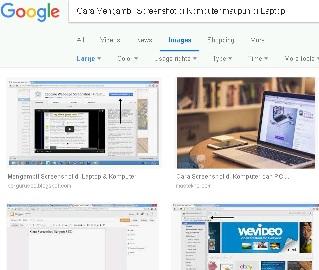 Cara Mengambil Screenshot di Komputer maupun di Laptop